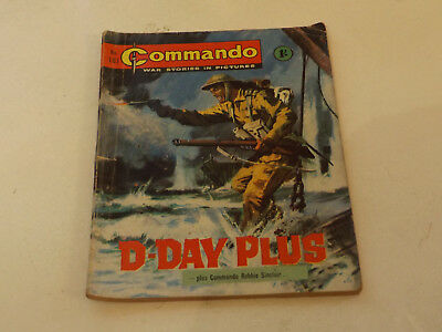 Commando War Comic Number 187!,1965 Issue,good For Age,53 Years Old,very Rare.