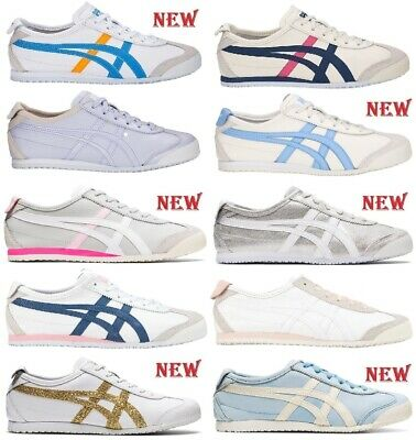 scarpe donna ONITSUKA TIGER by ASICS sneakers blu pelle