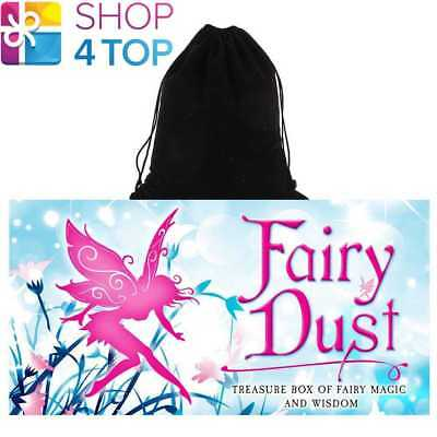 Fairy Dust Inspirational Deck Cards Esoteric Us Games Systems With Velvet Bag