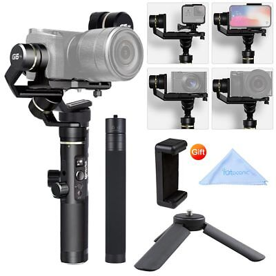 Feiyu G6 Plus 3-Axis Stabilizer Handheld Gimbal&Extension Tripod Kit for GoPro
