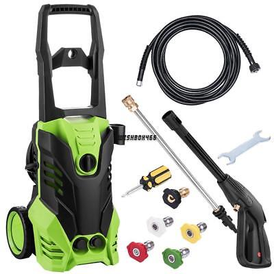 3000PSI Electric High Pressure Washer Burst Sprayer 1800W With Soap applicator