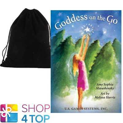 Goddess On The Go Inspiration Cards Deck Us Games Systems With Velvet Bag New