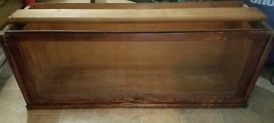 Antique Oak Globe Wernicke Stacking Bookcase Section C11-398