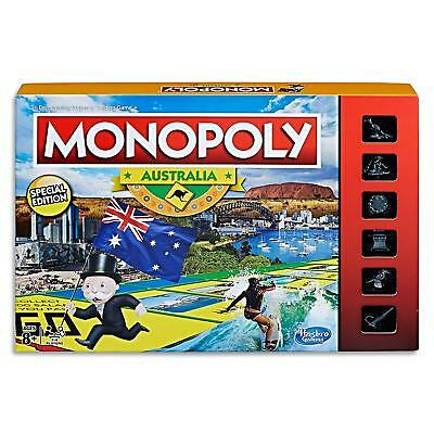 New Monopoly Australia Collectors Edition Family Board Game Property Trading AU