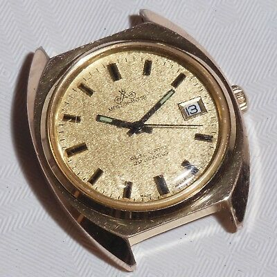 Herrenuhr - Meister ANKER - Datum - Automatic - 22 Jewels - Made in GDR - 41