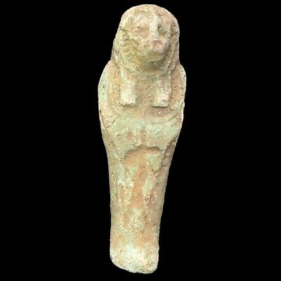 Beautiful Ancient Egyptian Sekhmet Amulet 300 Bc (1)