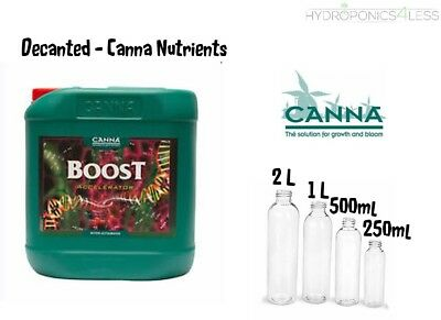 CANNA Boost DECANTED Flower Enhancer Hydroponics 100 250 500ml 1 2 Litre