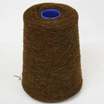 Shetland Weaving Yarn - Colour Fired Earth - various cone weights