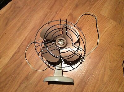 Vintage Knapp Monarch Jack Frost Desk Fan