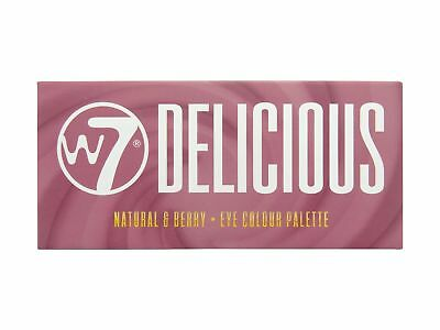 W7 Delicious Natural & Berry Tone 14 Colour Eye Shadow Palette