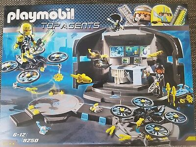 Playmobil - Top Agents - Dr. Drone's Command Center, Neu, Ovp, 9250