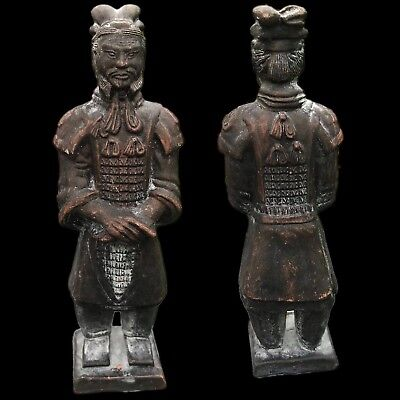 Chinese Terracotta  Antique Emporer Warrior Soldier Statue