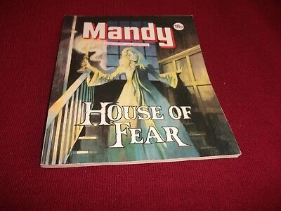 MANDY PICTURE STORY LIBRARY BOOK from the 1980's: never been read - vg condit!