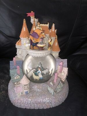 Disney Beauty and the Beast Musical Snowglobe - RARE TO FIND!!