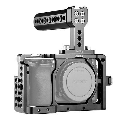 SmallRig Cage Kit for Sony A6000 A6300 NEX7 Camera with Cage, Handle, HDMI Clamp