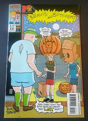 Beavis and Butthead #10 SCARCE ONLY ONE ON EBAY Comic Book Marvel Comics MTV VF+