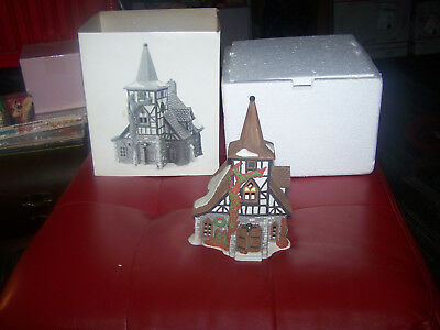 Dept. 56 Dickens Village Old Michael Church!!