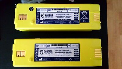 Cardiac Science G3 batterys