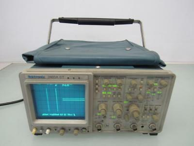 Tektronix 2465A CT 350MHz Oscilloscope 4-Channel Analog