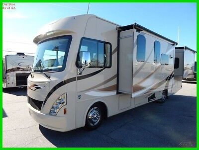 2017 Thor A.C.E. 29.4 Used Coach Class A Gas Motor Home RV outside kitchen bunk