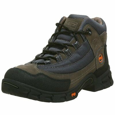 Timberland PRO Boots Mens Expertise 50501 EH Grey Steel Toe Hiking Boots SZ 9