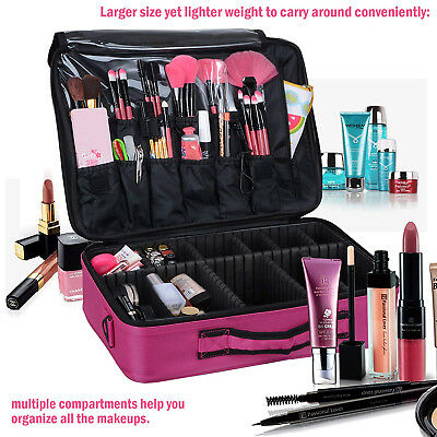 Extra Large Makeup Bag Vanity Case Cosmetic Nail Storage Beauty Box Portable