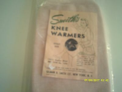 Vintage SMITH'S WOMEN'S KNEE WARMERS Pink Stout Size Unused/Sealed