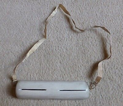 Rare Inuit Eskimo North American Carved Caribou Antler Snow Blindness Goggles Nr