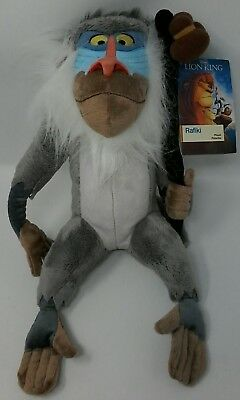 """Authentic Disney Store The Lion King Rafiki Plush 15"""" New with tags"""