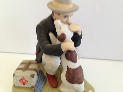 "Norman Rockwell Danbury Mint Figurine....""homecoming"""