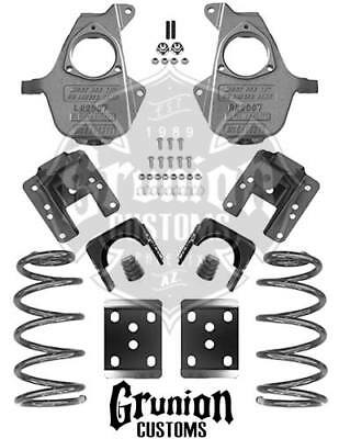 Mcgaughys S10 23 Drop Kit Coils Blocks Ext Cab 33107