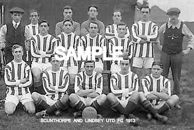 Scunthorpe and Lindsey Utd FC 1913 Team Photo