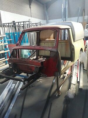 Mini Pickup spaceframe project with V5