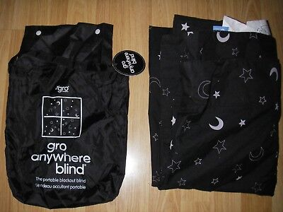 The Gro Anywhere blackout blind - summer/camping/work/childs