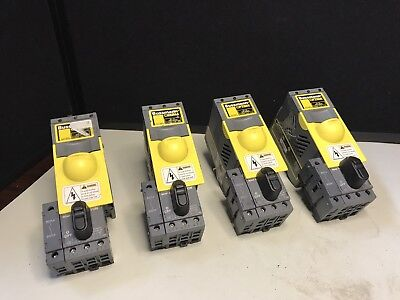 Lot of (4) Bussmann Optima Fuse Blocks OPM-1038SW