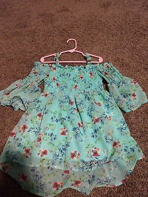Beautees Brand Size 6 Girls Floral print