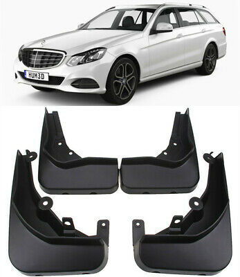 OEM Splash Guards Mud Flaps For 13-2016 Mercedes Benz E Class Estate Wagon S212