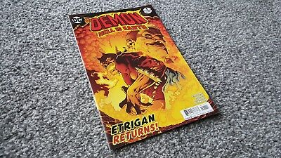 THE DEMON: HELL IS EARTH #1 of 6 (2018) DC MINI-SERIES