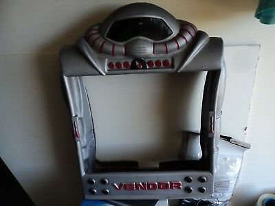 Vintage 1988 Vendall Corp Robot Display Surround Gumball Candy Vending Machine!