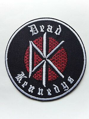 Dead Kennedys American Heavy Punk Rock Music Band Embroidered Patch Uk Seller