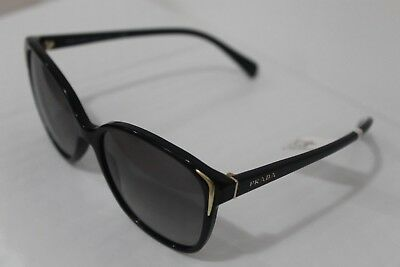 f680dfe88981 PRADA WOMEN S GRADIENT PR01OS-1AB3M1-55 Black Cat Eye Sunglasses ...