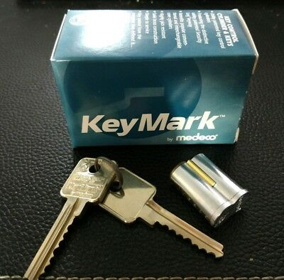 Keymark by Medeco Interchangable Core IC with Two Keys & Control Key