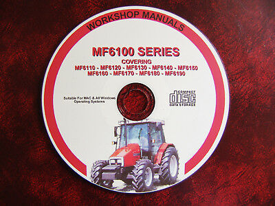 Massey Ferguson Mf6110 6120 6130 6140 6150 6170 6180 6190 Workshop Repair Manual