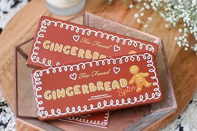 Too Faced Gingerbread Spice Eye Shadow Make Up Palette 18 Colours