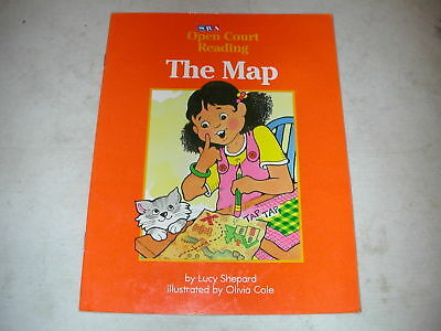 SRA Level B book The Map by Lucy Shepard