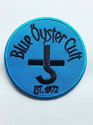 BLUE OYSTER CULT HEAVY METAL ROCK n ROLL MUSIC BAND EMBROIDERED PATCH UK SELLER