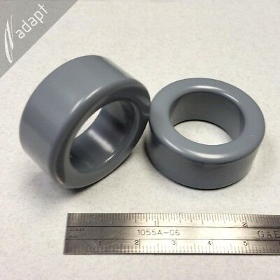 "Toroid Core Magnetics ZW-43615-TC Power Ferrite 1.417"" OD 2 PCS AL-13400"