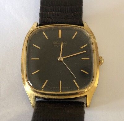Vintage Very RARE  SEIKO  7810 - 5009  Quartz  5 Jewels  Men's Japan  Watch