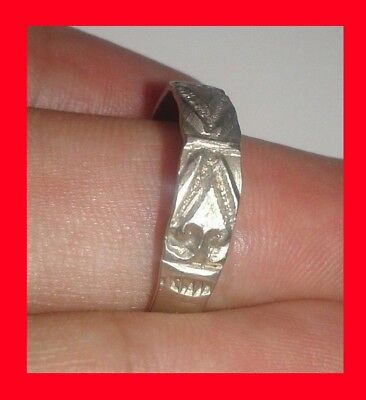 Legio **x** Roman Extremely Ancient Silver Legionary Roman Ring **amazing**