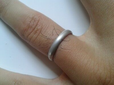 Roman Simple Ring Extremely Ancient Silver Legionary Roman Ring **amazing**